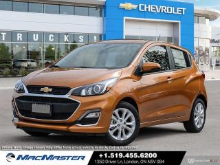 New 2021 Chevrolet Spark 1LT CVT SPORT EDITION | FWD | REAR VIEW CAMERA | BLUETOOTH | CVT | KEYLESS ENTRY for sale in London, ON