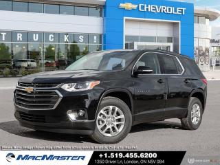 New 2020 Chevrolet Traverse LT BLUETOOTH | PREMIUM CLOTH SEATS | FWD | REAR VIEW CAMERA | 7 PASSENGER for sale in London, ON
