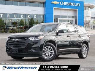 New 2020 Chevrolet Traverse LS BLUETOOTH | PREMIUM CLOTH SEATS | FWD | REAR VIEW CAMERA | 8 PASSENGER for sale in London, ON
