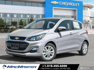New 2021 Chevrolet Spark 1LT CVT FWD | REAR VIEW CAMERA | BLUETOOTH | HATCHBACK | CVT | KEYLESS ENTRY for sale in London, ON
