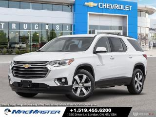 New 2020 Chevrolet Traverse 3LT DRIVER CONFIDENCE PKG II | AWD | FORWARD COLLISON ALERT | BLUETOOTH | NAVIGATION | 7 PASSENGER for sale in London, ON