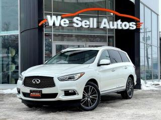 Used 2017 Infiniti QX60 4dr AWD Sport Utility Leather Heated Seats for sale in Winnipeg, MB