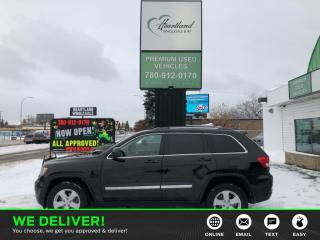 Used 2011 Jeep Grand Cherokee Laredo LEATHER | POWER SEAT | AWD | BACK UP CAMERA-USED EDMONTON JEEP DEALER for sale in Edmonton, AB