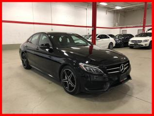 Used 2017 Mercedes-Benz C-Class C300 4MATIC NIGHT PREMIUM PLUS ACTIVE LED 360 for sale in Vaughan, ON