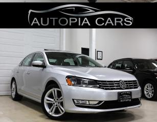 Used 2014 Volkswagen Passat 2.0L TDI SE NAVIGATION REAR VIEW CMERA SUNROOF for sale in North York, ON