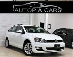 Used 2015 Volkswagen Golf Sportwagon 2.0 TDI TRENDLINE REAR VIEW CAMERA DIESEL for sale in North York, ON