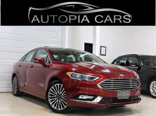 Used 2018 Ford Fusion Hybrid TITANIUM HYBRID NAVIGATION REAR CAMERA SUNROOF for sale in North York, ON