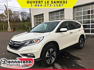 Used 2016 Honda CR-V Touring AWD *GARANTIE 10 ANS / 200 000 K for sale in Donnacona, QC