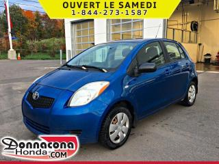 Used 2007 Toyota Yaris LE *JAMAIS ACCIDENTE* for sale in Donnacona, QC