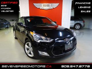 Used 2012 Hyundai Veloster COUPEAUTO | CERTIFIED | ACCIDENT FREE & MORE!!! | FINANCE @4.65 for sale in Oakville, ON
