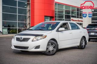 Used 2010 Toyota Corolla GARANTIE PROLONGEE DISPONIBLE* TRES TRES BAS KILOMETRAGE for sale in Terrebonne, QC