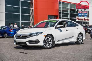 Used 2016 Honda Civic GARANTIE LALLIER MOTO-PROPULSEUR 10ANS/200,000 KIL PLUS DE 75 CIVIC USAGEES PRET POUR LIVRAISON RAPIDE for sale in Terrebonne, QC
