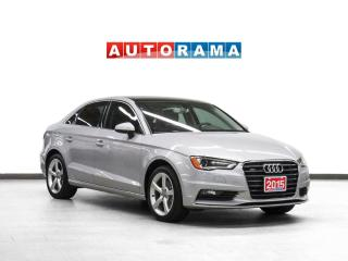 Used 2015 Audi A3 Quattro Leather Sunroof for sale in Toronto, ON