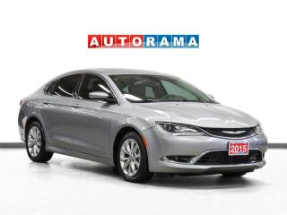 Used 2015 Chrysler 200 C V6 Nav Leather PanoRoof Backup Camera for sale in Toronto, ON