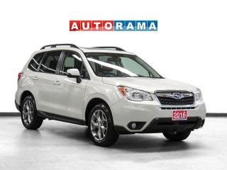 Used 2016 Subaru Forester Limited AWD Nav Leather PanoRoof Backup Cam for sale in Toronto, ON