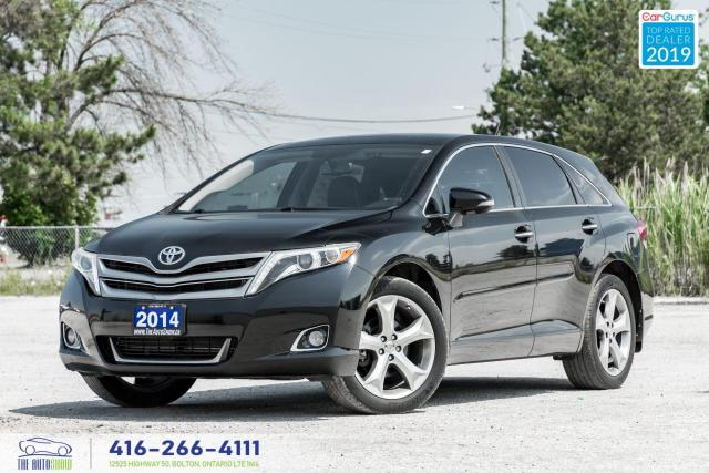2014 Toyota Venza Limited AWD|Leather|Sunroof|Navi|Clean Carfax|