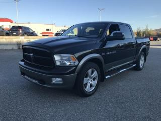 Used 2011 RAM 1500 CREW CAB  4X4, 140,5 po Outdoorsman for sale in Sherbrooke, QC