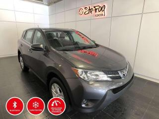 Used 2015 Toyota RAV4 Le - Fwd - Bluetooth for sale in Québec, QC