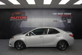 Used 2017 Toyota Corolla LE CVT AUTO MAGS SIÈGES CAMERA BLUETOOTH 109 028 for sale in Lévis, QC