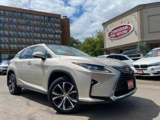 Used 2017 Lexus RX 350 NAVI | CAM | ROOF | AWD | COOLED SEATS | LEXUS WA for sale in Scarborough, ON