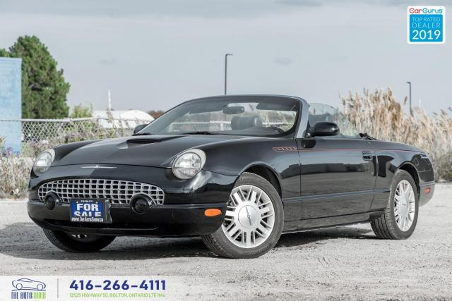 2002 Ford Thunderbird Factory hardtop and stand|Ontario car|
