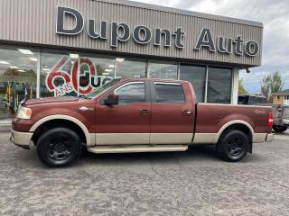 Used 2007 Ford F-150 4 RM, Super cabine multiplaces 150 po, K for sale in Alma, QC