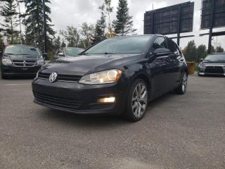 Used 2017 Volkswagen Golf *COMFORTLINE*CAMÉRA*CUIR*BLUETOOTH for sale in Québec, QC