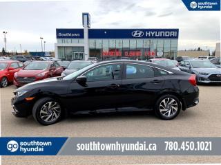 Used 2019 Honda Civic Sedan EX/BLIND SPOT/ROOF/REMOTE STARTER/BACK UP CA, for sale in Edmonton, AB