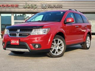 Used 2018 Dodge Journey GT | DVD PLAYER | NAV | 7 PASSENGER | REAR CAM for sale in Listowel, ON
