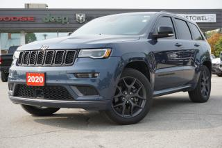Used 2020 Jeep Grand Cherokee DUAL PANE ROOF | LEATHER | LIMITED X for sale in Listowel, ON