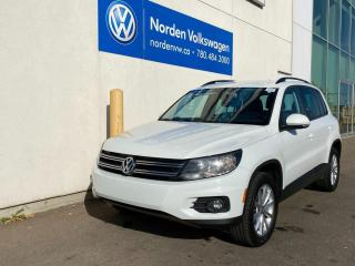 Used 2017 Volkswagen Tiguan WOLFSBURG EDITION AWD - LEATHER / HEATED SEATS for sale in Edmonton, AB