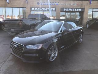 Used 2015 Audi A3 2dr Cabriolet quattro 2.0T Technik-2 SETS TIRES for sale in North York, ON