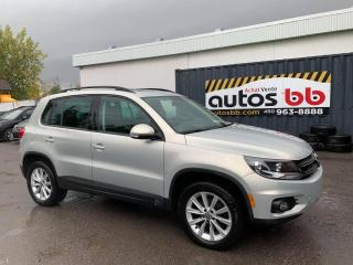Used 2013 Volkswagen Tiguan HIGHLINE 4MTION for sale in Laval, QC