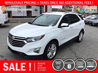 Used 2020 Chevrolet Equinox Premier AWD - Accident Free / No Dealer Fees / Heated Seats for sale in Richmond, BC