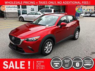Used 2019 Mazda CX-3 GS AWD - No Accident / Sunroof / No Dealer Fees for sale in Richmond, BC