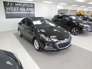 Used 2017 Chevrolet Cruze LT AUTO MAGS A/C CAMÉRA CRUISE BT TOIT for sale in Dorval, QC