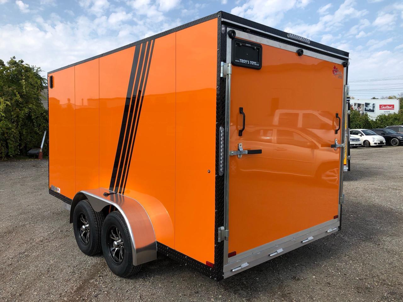 2021 Canadian Trailer Company 7x14 V Nose Cargo Trailer