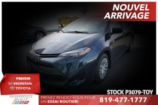 Used 2017 Toyota Corolla LE| SAFETY SENSE| CLIMATISATION for sale in Drummondville, QC