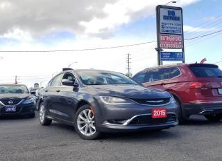 Used 2015 Chrysler 200 NO ACCIDENTS | C | NAVI | CAMERA | for sale in Brampton, ON