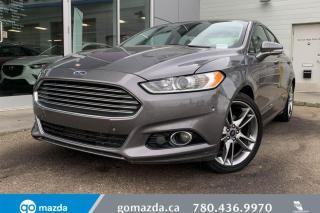 Used 2014 Ford Fusion Titanium for sale in Edmonton, AB
