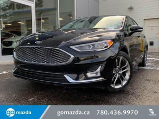 Used 2020 Ford Fusion Hybrid Titanium for sale in Edmonton, AB
