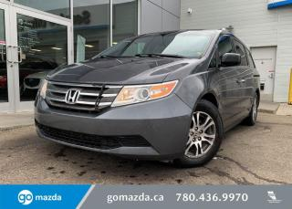Used 2013 Honda Odyssey EX - CLOTH, POWER DOORS, HEATED SEATS, BACK UP, BLUETOOTH, GREAT FAMILY VEHICLE! for sale in Edmonton, AB