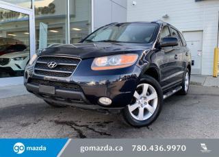 Used 2009 Hyundai Santa Fe LIMITED - AWD, 3.3L BEAST, LEATHER, SUNROOF, BLUETOOTH, HEATED SEATS, GREAT DEAL! for sale in Edmonton, AB