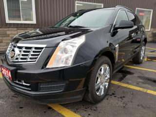 Used 2014 Cadillac SRX HEATED SEATS-LEATHER-NEW TOUCH SCREEN for sale in Tilbury, ON