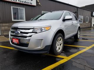Used 2011 Ford Edge SEL-LOCAL TRADE-REAR PARK SENSORS-ALLOY WHEELS for sale in Tilbury, ON