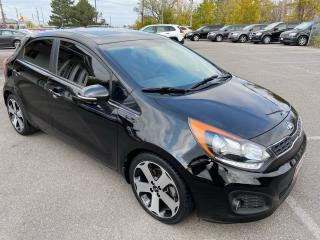 Used 2013 Kia Rio SX ** NAV, BACK CAM , HTD LEATH , SNRF ** for sale in St Catharines, ON