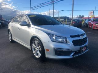 Used 2016 Chevrolet Cruze RS*SUNROOF*HEATED SEATS*BACKUP CAM for sale in London, ON