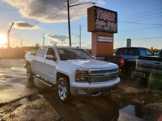 Used 2015 Chevrolet Silverado 1500 LTZ**FULLY LOADED**LEATHER**NAVI**BACKUP for sale in London, ON
