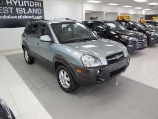 Used 2005 Hyundai Tucson GL AUTO MAGS A/C CRUISE GROUPE ÉLECTRIQU for sale in Dorval, QC