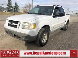 Used 2001 Ford Explorer Sport Trac 4D Utility 4WD for sale in Calgary, AB